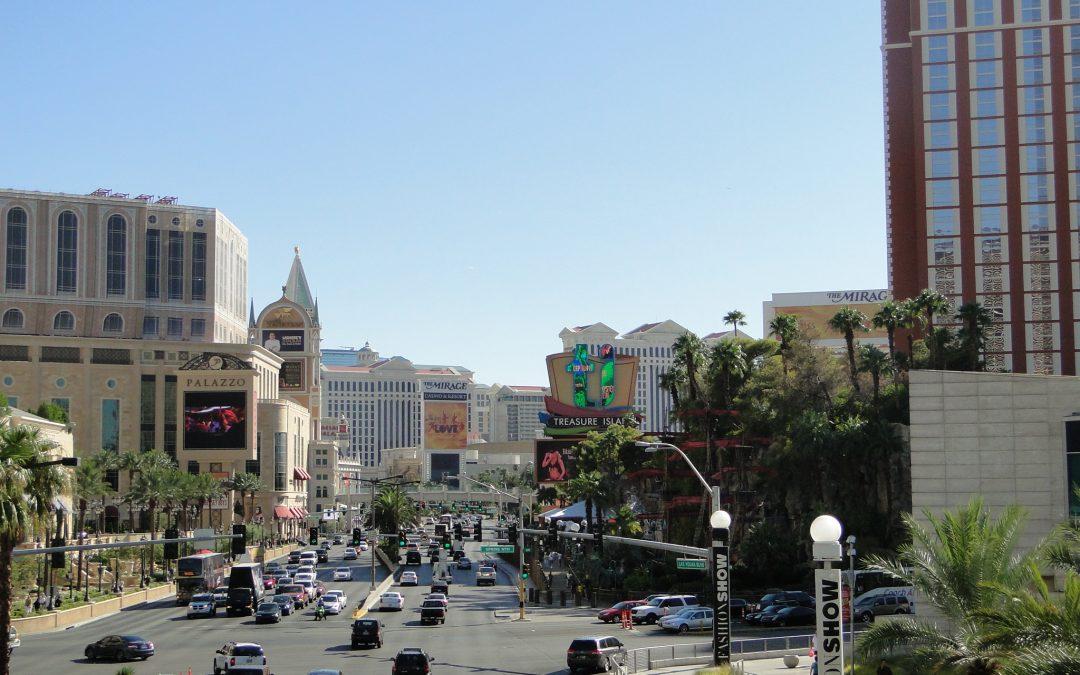 Fazendo compras em Las Vegas