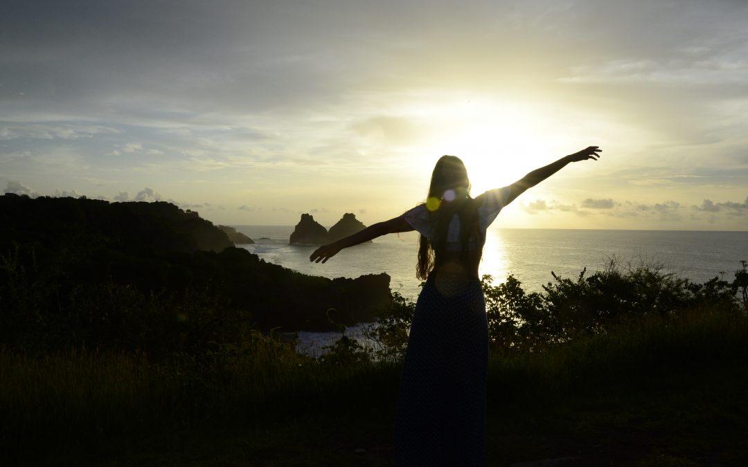Por do sol em Noronha ; onde ver?